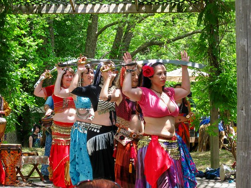 Desert Wind Gypsy Fire Belly Dancers At The Oklahoma