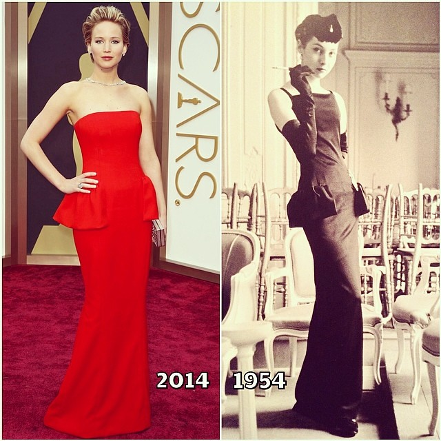 Jennifer Lawrence Wore To The Oscars A Recreation Of The Flickr
