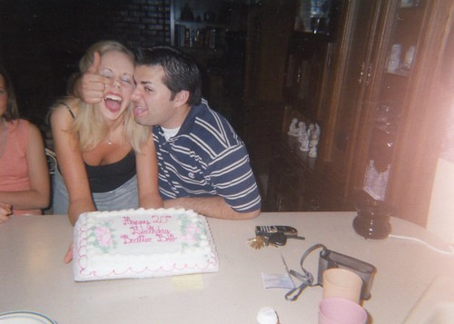 Brittny's 20th birthday with Will-2003