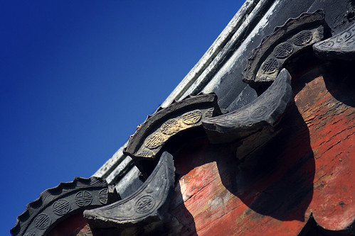 Chinese Traditional Architecture - Roof Tiles | by 13Moya Photography 十三磨牙
