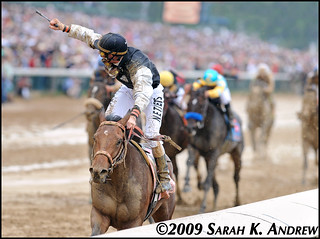 Mine That Bird and Calvin Borel win the 135th Kentucky Derby | by Rock and Racehorses