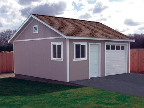 Premier pro garage 20x20 windows gable vent for 20x20 garage
