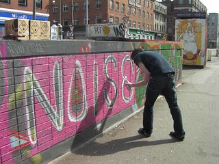 Guerilla Art in City Centre | by NOISE Lab