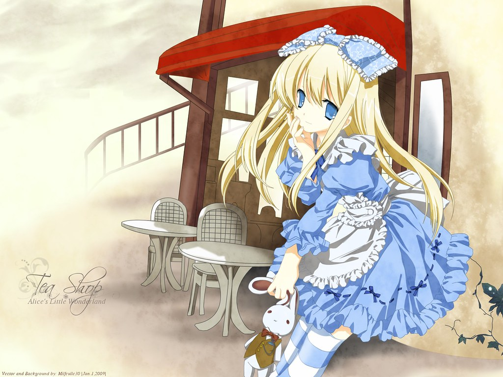 Alice In Wonderland Cute Anime Wallpaper Alvaro Ortiz Flickr