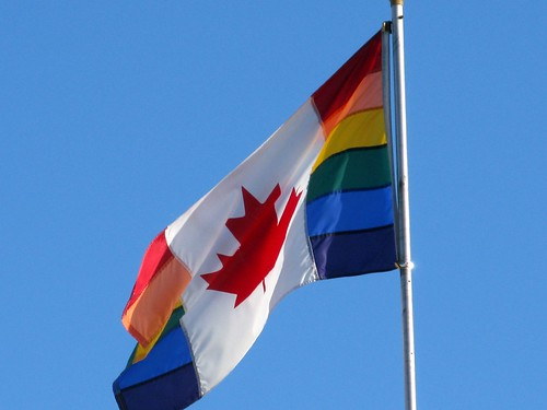 Bank at McLeod — Variations On The Rainbow Nation Flag 3 | by dugspr — Home for Good