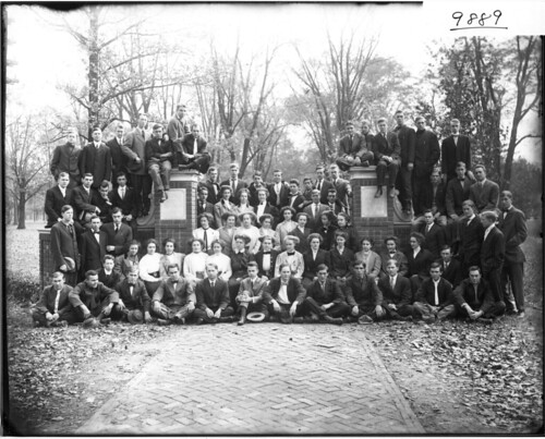 Miami University sophomore class 1910 | by Miami U. Libraries - Digital Collections