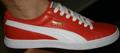 Puma Clyde Leather Shoes
