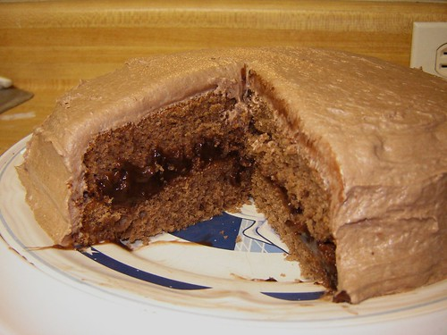 Chocolate Fudge Scratch Cake