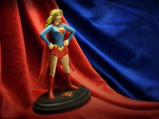 1999 Hand-made Supergirl Statue | by JD Hancock