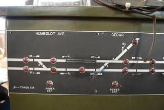 This is the Milwaukee Road depression line (uptown tracks) dispatchers control board. | by ~Ride Dirty or Die~
