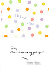 You're very welcome! | by passiveaggressivenotes