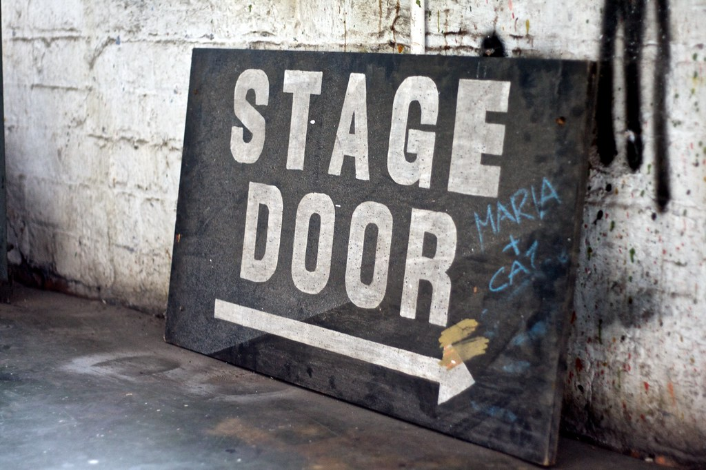 Stage Door sign | by spikeyhelen Stage Door sign | by spikeyhelen & Stage Door sign | Helen Cassidy | Flickr