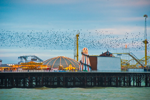 Brighton Pier, East Sussex, England. HDR Christmas 2008 | by mmayson