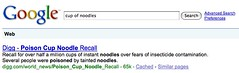 Google Poison Cup Of Noodles | by search-engine-land