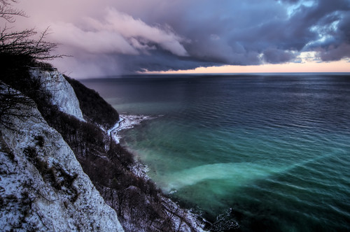 Dramatic Dusk at Rügen, Germany | by Xindaan