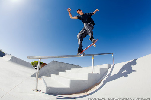 Corrales Skateboarding | by Sam Adams Photo