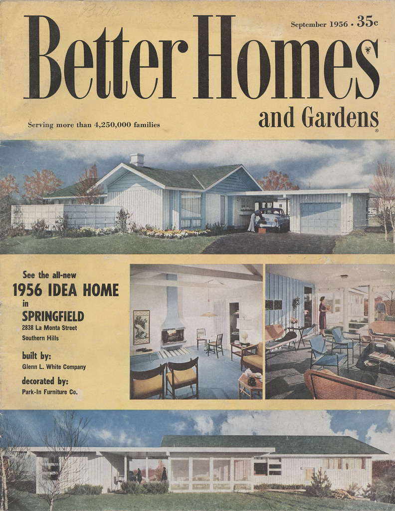 ... 1956 Better Homes And Garden Idea Home | By Hoodlam
