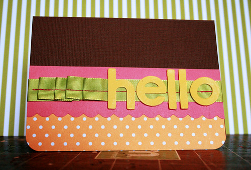 *Hello* card | by wonderfully complex
