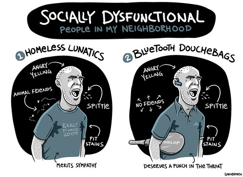 socially dysfunctional | by lunchbreath