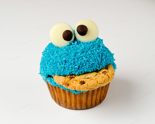 Cookie Monster Cupcake | by Brett Jordan