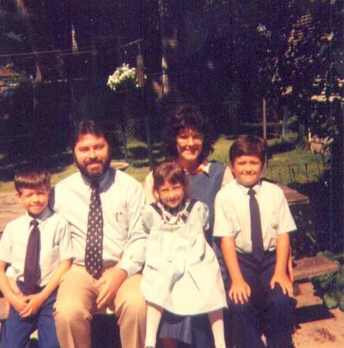 picture of family Holland Mich.