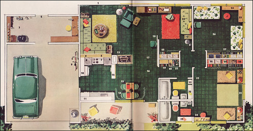 1951 Levitt Amp Sons House Plan This Plan Was A Featured