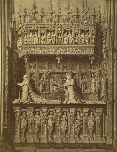 rouen drawing of the tomb of the cardinals of amboise flickr. Black Bedroom Furniture Sets. Home Design Ideas