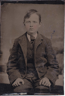 Serious Lad Tintype | by LJMcK