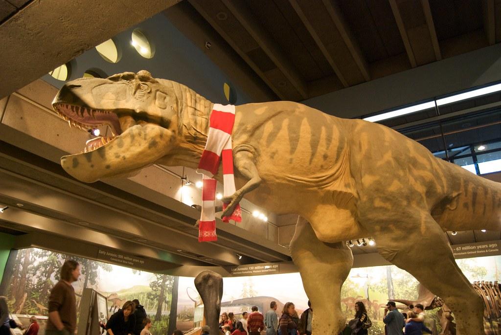 ... Scarf wearing T-Rex | by Ash Berlin