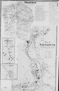 Plan of Naugatuck, Town of Naugatuck, New Haven, Co., Conn. (Petersen Collection) | by uconnlibrariesmagic