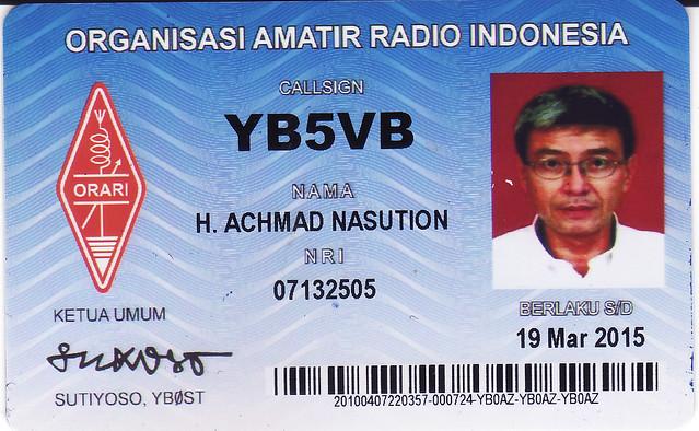Orari Indonesian Id Card Members Kta Yb5vb H Andre Nasution Mba