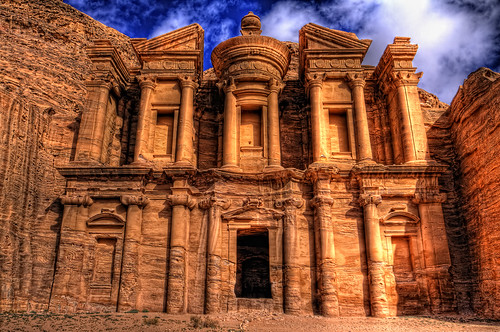 The Monastery - Petra, Jordan | by Michael Zahra