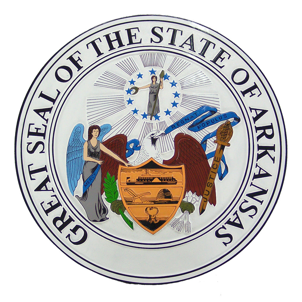 arkansas state seal state seal plaques c state seal plaque flickr