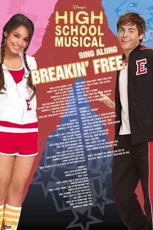 Breaking Free Lyrics - High School Musical musical