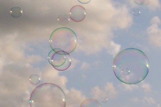 bubbles against the sky | by featherlite