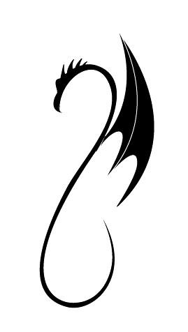 Simple Tribal Dragon Dragon Tattoo Designs Flickr