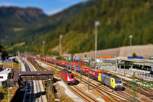 Tilt-Shift mit Photoshop - 189 908 am Brenner | by kilux