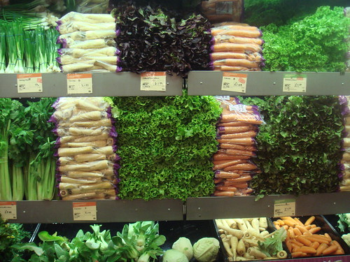 Greens and vegetables at Whole Foods Market, London | by ciao_yvon
