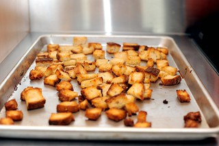 homemade croutons | by sassyradish