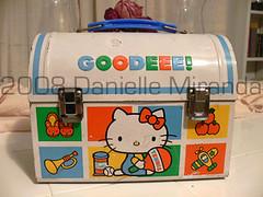 Hello Kitty Vintage Plate Healthful Food