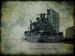Docked at Liverpool | by abstract_effects