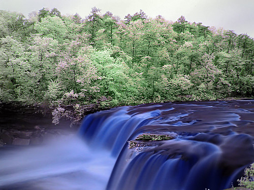Little River Falls n Blue | by Magadelic Rock