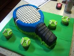 Tennis Racket Cake Pan