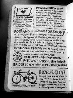 Portland Sketchnote Travelogue - Page 03 | by Mike Rohde