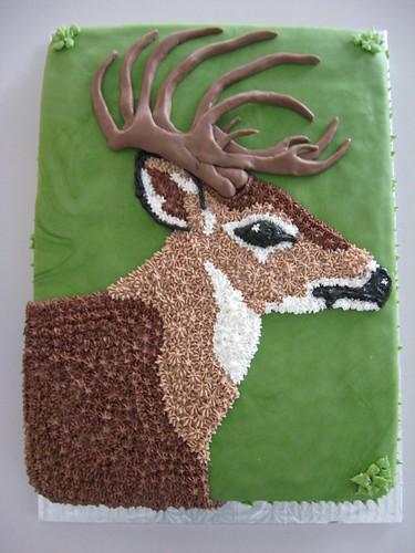 Deer Cake Pan D