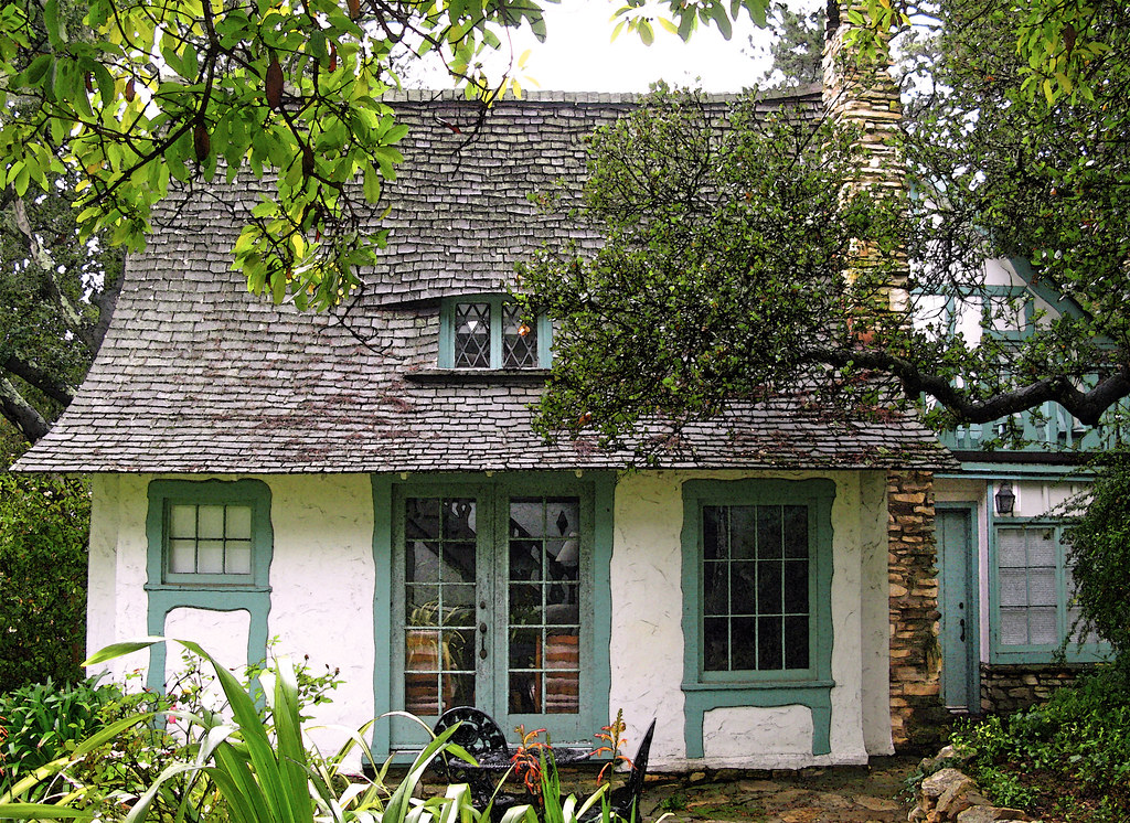 The Fairytale Cottages of Carmel by the Sea After Hugh Com Flickr