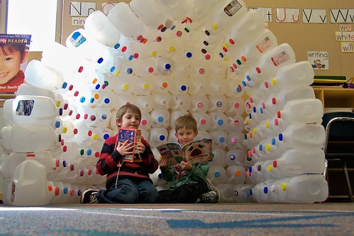 milk carton igloo | by Towne Post Network