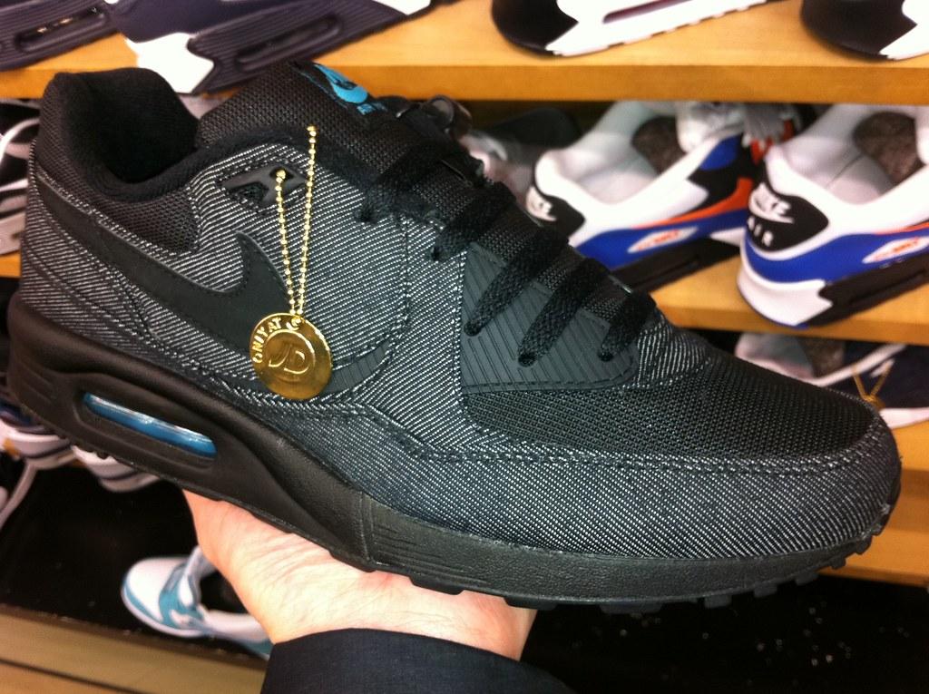 Nike Air Max Light 'Black Childrens Blue' Denim JD Sports
