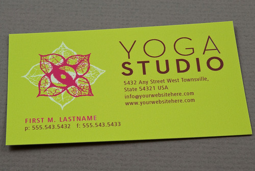 Contemporary yoga business card contemporary yoga business flickr contemporary yoga business card by inkdphotos reheart Images