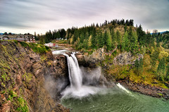 Snoqualmie Falls from Observation Deck | by Nizam_Jusoh